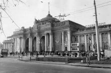 Одесса, железнодорожный вокзал. 1982 г.