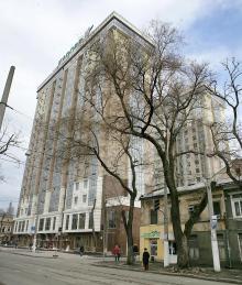 Старопортофрансковская улица. Фото Вячеслава Тенякова. 13 января 2016 г.
