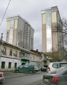 Одесса, ул. Асташкина, 25. Фото Вячеслава Тенякова. 13 января 2016 г.
