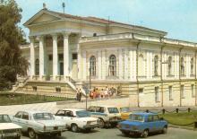 Одесса. Археологический музей. Фото А. Рязанцева. Набор открыток «Одесса». 1988 г.