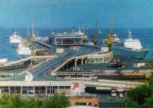 Морской вокзал новый