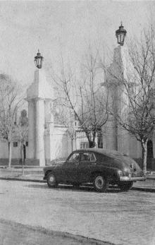 Одесса, Пролетарский бульвар, 33, ворота киностудии