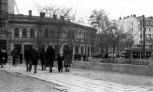 Одесса, площадь Мартыновского (греческая), 1950-е годы