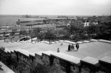 Одесса. Бульварная лестница. Фотограф Willy Pragher. Июнь 1943 г.
