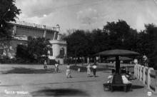 Одесса, пляж Аркадия. Почтовая открытка. 1930-е гг.