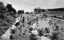 Одесса. Курорт Аркадия. Новый парк. Почтовая карточка. 1920-е годы