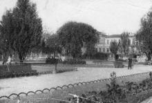 Одесса. Городской сад. Почтовая карточка. 1931 г.