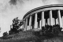 Колоннада Дворца пионеров. Фото в брошюре «Одесса с моря». 1970 г.