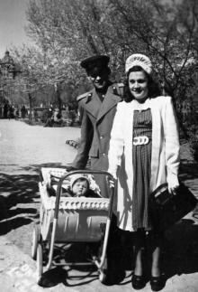 Одесса. На площади Советской Армии. 1948 г.
