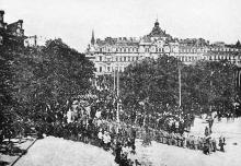 Фотограф А. Горнштейн, Крестный ход в годовщину основания Одессы, 22 августа 1899 г.