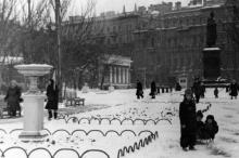 Одесса. Площадь Советской Армии. 1957 г.