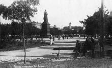 Одесса, площадь Кр. Армии. Почтовая карточка. Конец 1930-х гг.