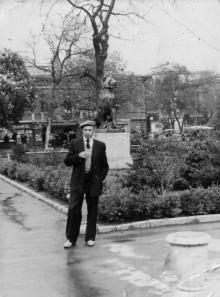 В городском саду. Одесса. 1950-е гг.