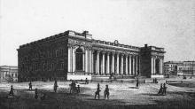 Биржевая площадь и биржа. Одесса