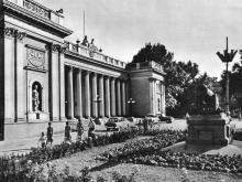 Площадь Коммуны. Фотография в фотоальбоме «Одесса», 1965 г.
