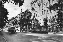 На улице Ленина. Фотография в фотоальбоме «Одесса», 1965 г.