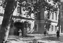Здесь жил А.С. Пушкин. Фотография в фотоальбоме «Одесса», 1965 г.