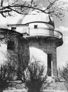 Астрономическая обсерватория Одесского госуниверситета. Фотография в фотоальбоме «Одесса», 1965 г.