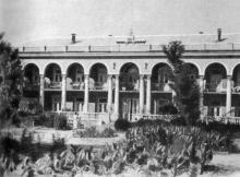 Санаторий «Ударник» на Большом Фонтане. Фотография в фотоочерке «Одесса», 1960 г.