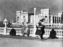 Зеленый театр на Куяльницком курорте. Фотография в фотоочерке «Одесса», 1960 г.