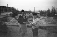 Одесса. Ланжерон. Ресторан «Грот». Фотограф Василий Данилович Жеребецкий. 1965 г.