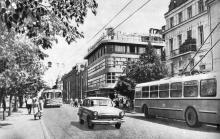Ресторан «Юбилейный» на Дерибасовской улице. Фотография в брошюре «Одесса. Достопримечательности», издана в 1971 г., сдана в набор в 1969 г.