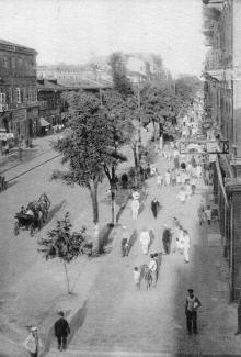 Одесса. Ул. Лассаля. Почтовая карточка. 1931 г.