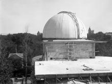 Фотография с достроенной площадки, 1918 г.