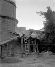 Перестройка башни обсерватории, 1914 г.