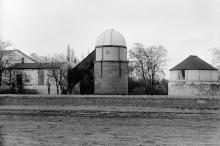 Башня обсерватории со стороны нынешнего (2016 г.) луна-парка