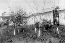 Башня обсерватории и павильоны с инструментами