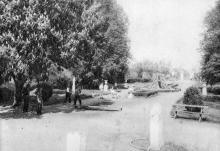 Одесса. Парк 5-го дома отдыха. Почтовая карточка. 1931 г.