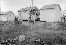 Открытый павильон меридианного круга. Начало 1920-х гг.