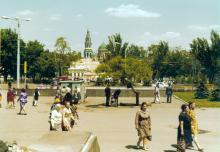 Привокзальная площадь, фотограф Кенно Туоминен, 1976 г.