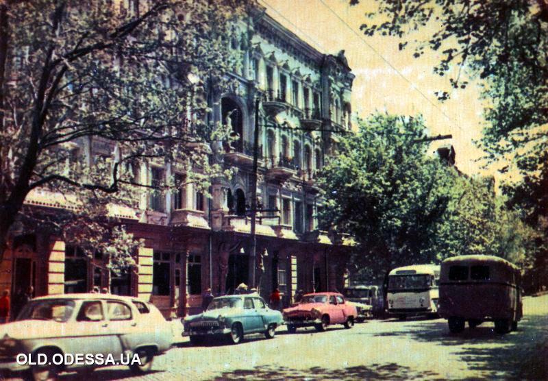 Пушкінська вулиця. Фото А. Підберезського. Поштова листівка з комплекту  1965 р. 1dba2308fefc7