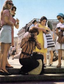 Потемкинская лестница, фото РИА «Новости», 1967 г.