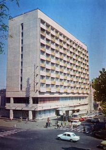 Одесса. Гостиница «Черное море». Фото И. Кропивницкого. Из набора открыток «Город-герой Одесса». 1978 г.