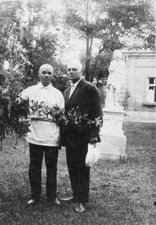 В парке кардиологического санатория. Одесса. 1930-е гг.