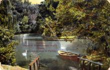 Одесса. Парк на Хаджибейском лимане. Открытое письмо. По штампу 1913 г.