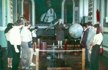 Одесский планетарий, в демонстрационном зале
