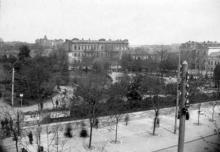 Горсад со стороны Дерибасовской, 1880-е годы