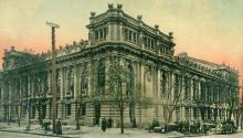 Театр А.И. Сибирякова, почтовая открытка, по штемпелю 1904 г.