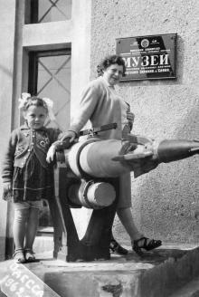 Музей антарктических китобойных флотилий «Советская Украина» и «Слава». Одесса, 1962 г.