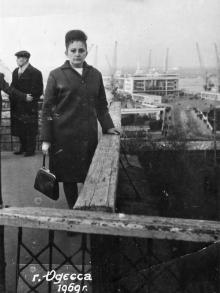 На Приморском бульваре. 1969 г.