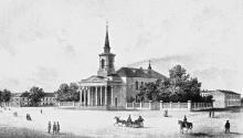 Старое здание Кирхи, после 1850 г.