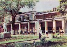 Детский санаторий им. Крупской. Фото в буклете «Одесса. Черноморка», 1963 г.
