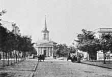 Старая Кирха, вид с ул. Дворянской, светопечать С.В. Кульженко