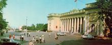 Будинок Одеського міського виконкому Ради депутатів трудящих. Фото Т.Б. Бакмана. З комплекту панорамных листівок «Одеса», 1973 р.