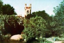 Санаторій №6 «Аркадія». Фото з фотогармошки «Одеса курортна», 1958 р.