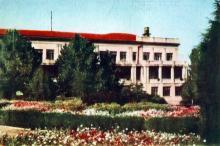 Дитячий санаторій №4. Фото з фотогармошки «Одеса курортна», 1958 р.